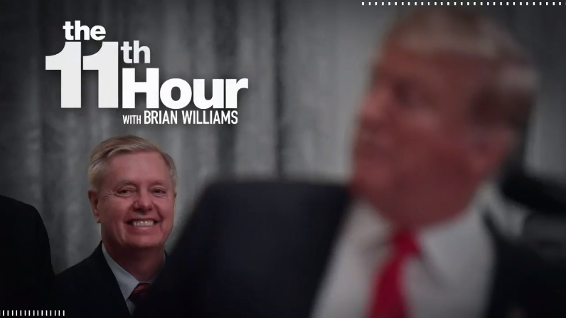 Tonights #LastThingBeforeWeGo? Lindsey Graham vs. Lindsey Graham on impeachment. Learn more: on.msnbc.com/30qAl8A #11thHour