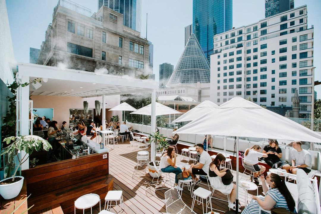 test Twitter Media - Looking for a cool rooftop view on a warm summer's day? We know the perfect spot 👉 located at 301 Swanston Street you'll find Peaches serving refreshing cocktails and yummy bites with the ultimate city view (via IG/kateshanasy). https://t.co/AAQBOIwtJz