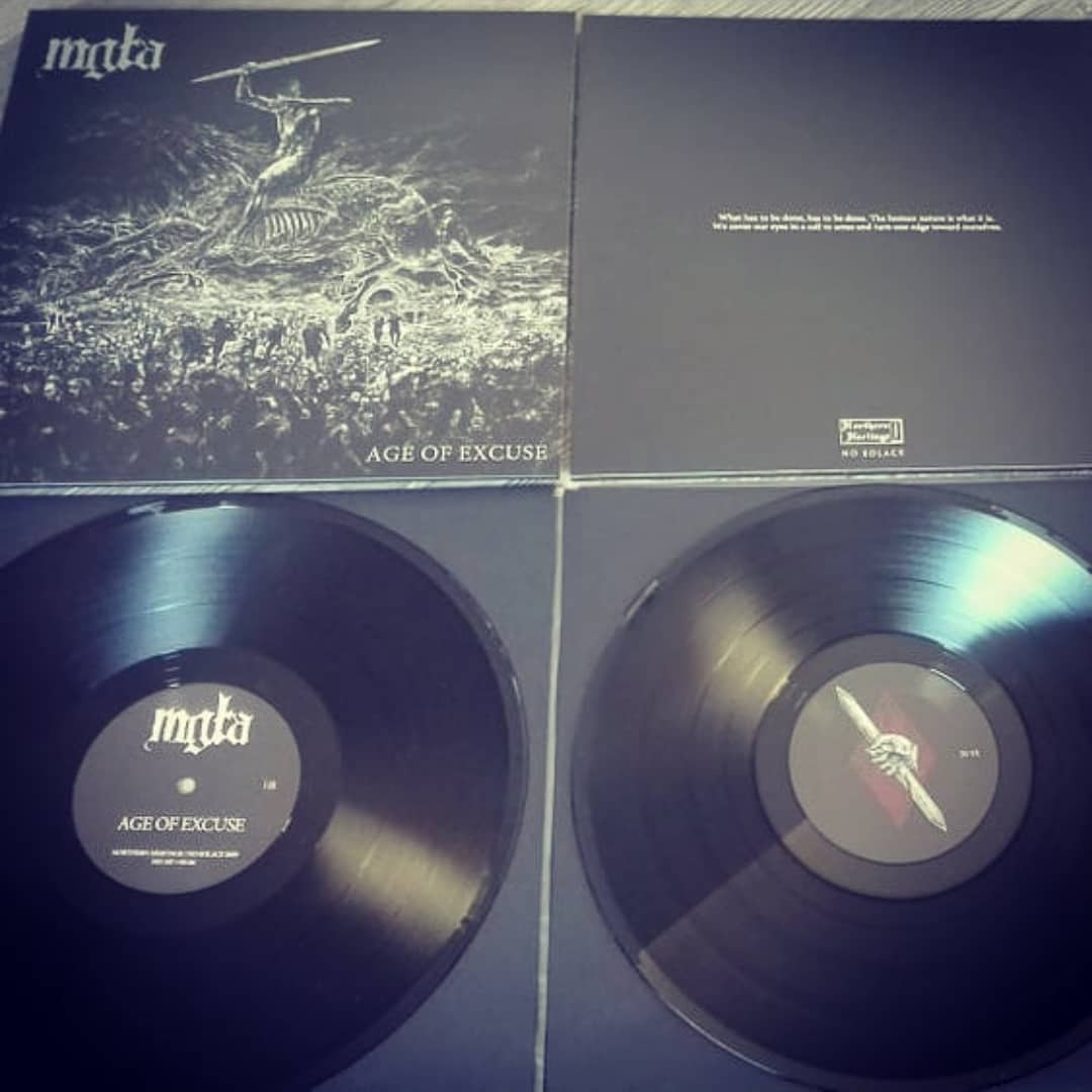 #Mgla #ageofexcuse LP preorder.  Shipping starts on the 24th of January. Regular black vinyl, standard sleeve, insert with lyrics. No Solace - https://store.no-solace.com  Northern Heritage - https://nhfastore.net #polishblackmetal #blackmetal #ageofexcuse #vinylpic.twitter.com/FbEFmWwq1x