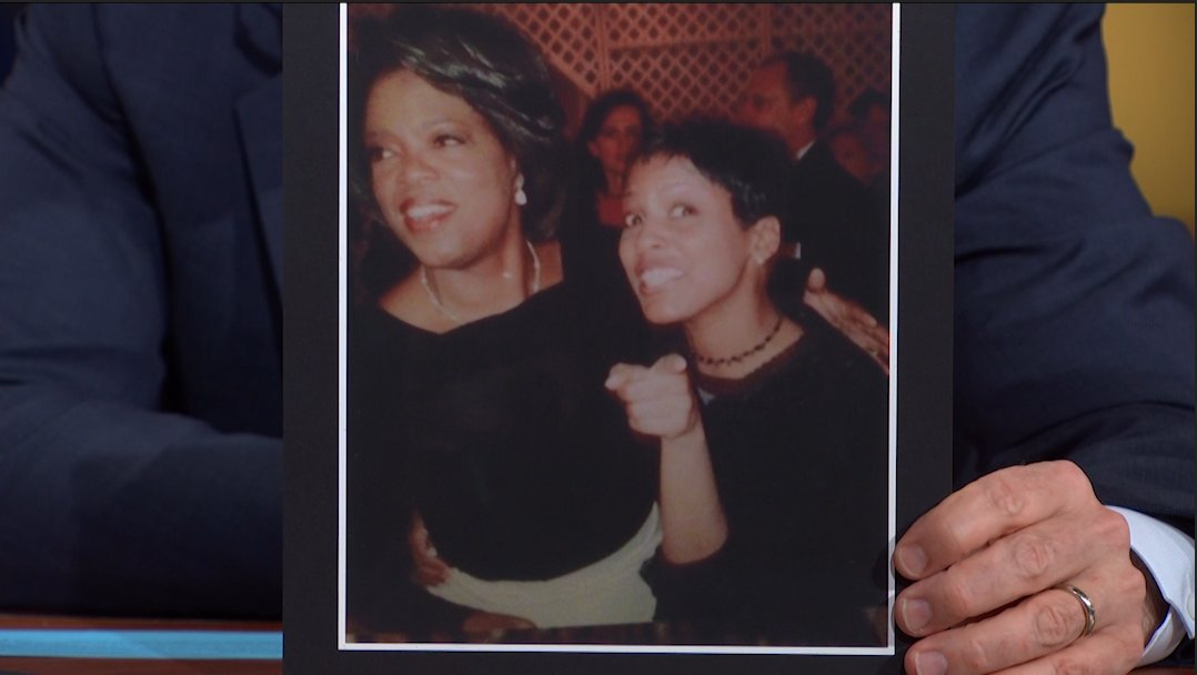 A throwback to @tamronhall and her 1st picture with @Oprah 🤣#LSSC