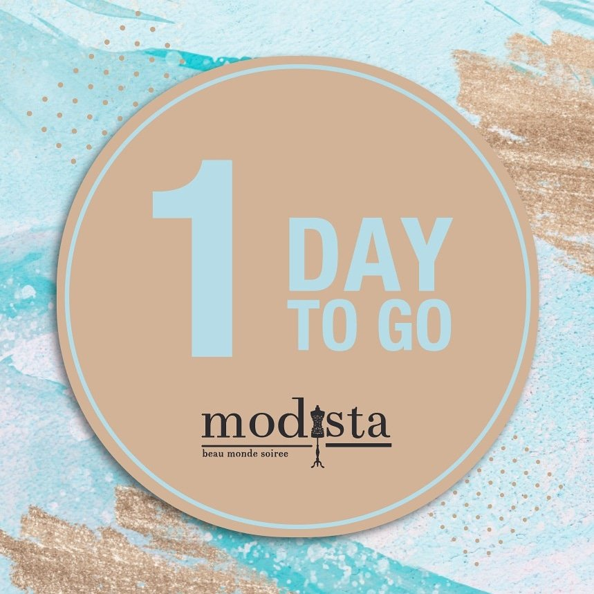 1 DAY TO GO!! Prep your party wardrobe at @modistadxb on Saturday 18th January, @shangrila_dubai from 10am - 8pm. . . #Modista #Modistadxb #luxuryfashion #luxurypret #womensfashion #handembroidery #occasionwear #ootn #ootdfashion #patola #indianattire #celebritydesignerpic.twitter.com/O0VbqnIbSB
