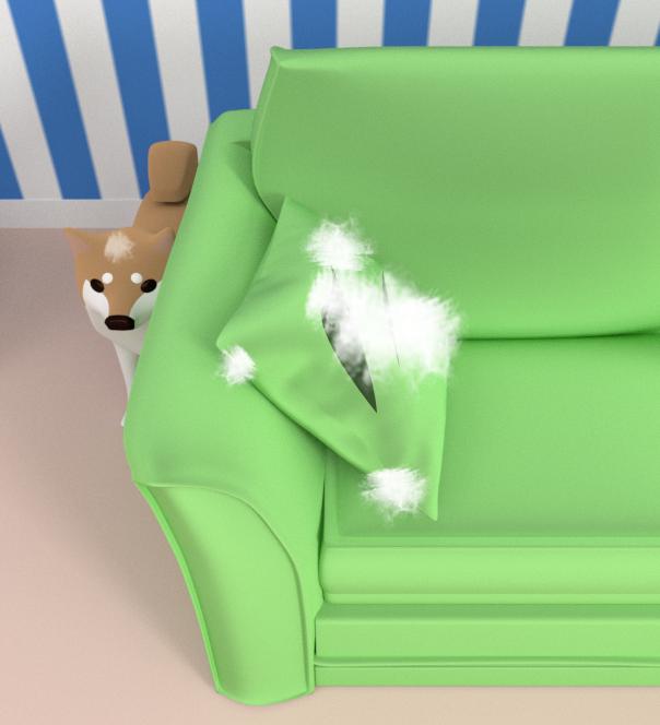個人的に気に入っている柴犬コタローは、こちらのクッション破っちゃって綿まみれのコタローです😆登場ゲームはこちら↓◎脱出ゲーム Stargazer◎Android版  iOS版  #脱出ゲーム #escapegame