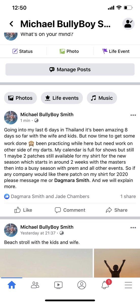 Michael Smith @BullyBoy180