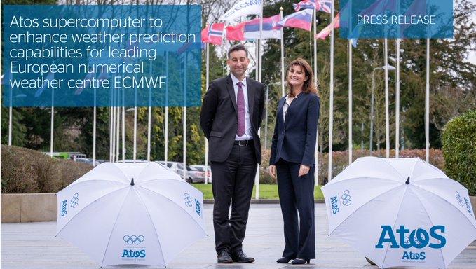 El #supercomputador de @Atos mejorará las capacidades de predicción meteorológica del @ECMWF,...