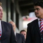 """Trent Robinson admits Latrell Mitchell's """"time was up"""" at the Roosters.But says there's no bad blood: https://t.co/YpMLodPQh9 #NRL"""