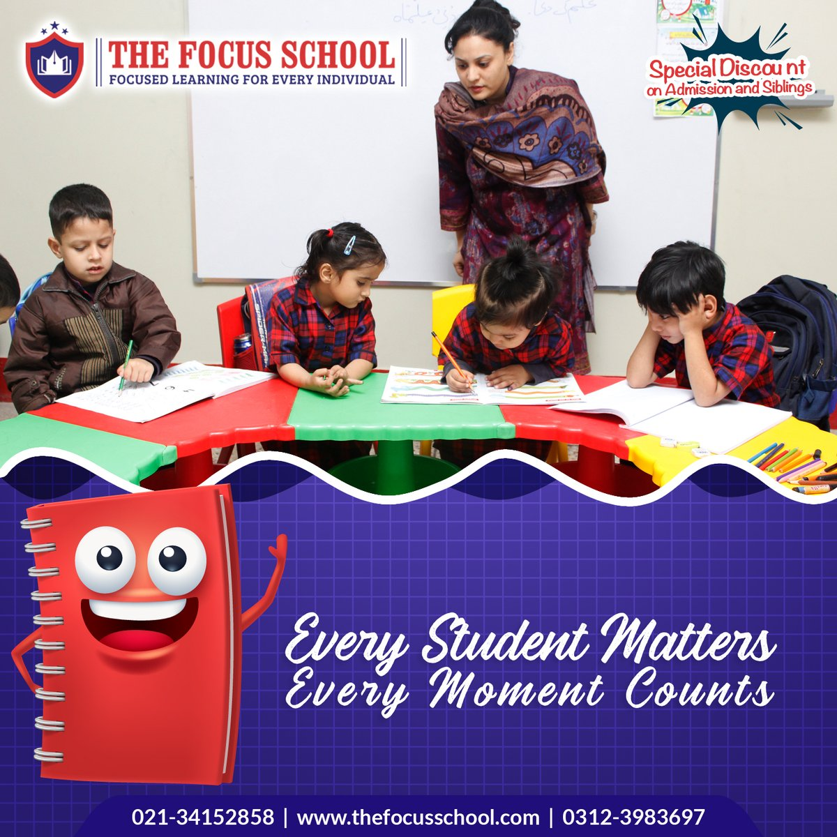 @Boundlesstechno Running #socialmedia Paid campaign for Education Client Top School in Karachi #TheFOCUSSchool  Website: http://boundlesstech.net/social-media-m …  #Englishschool #BestSchool #OLevel #ALevel #OLevelSchool #preschool #montessori #Daycare #Happypalace #Happyhome #Cityschoolpic.twitter.com/kNXVQ3GRMa