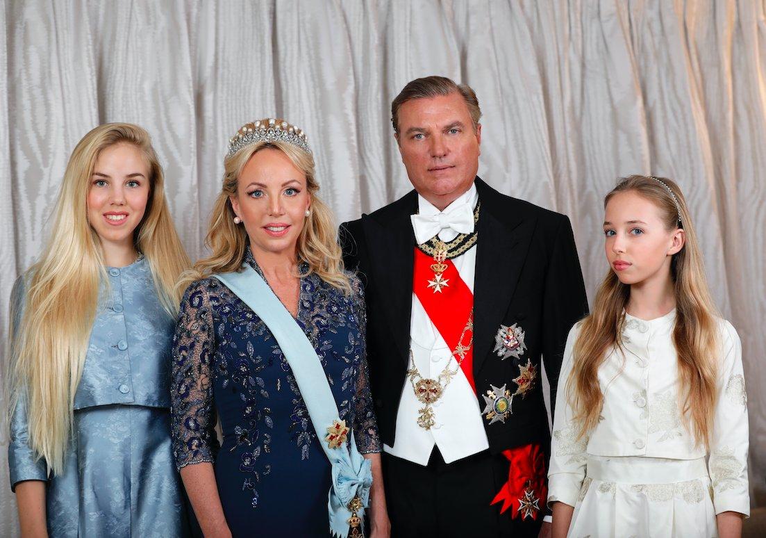 ブルボン王家、両シチリア王国の王位継承者、初来日