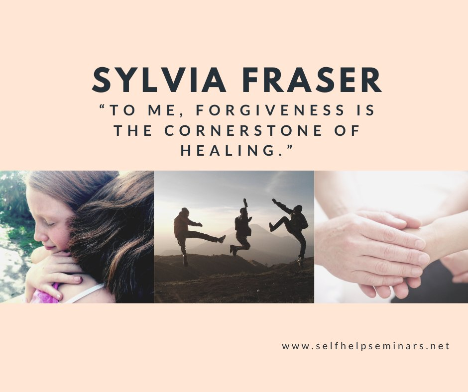 """To me, forgiveness is the cornerstone of healing."" — Sylvia Fraser  #SelfHelp #SelfConfidence #Healingpic.twitter.com/KzESq0TEcb"