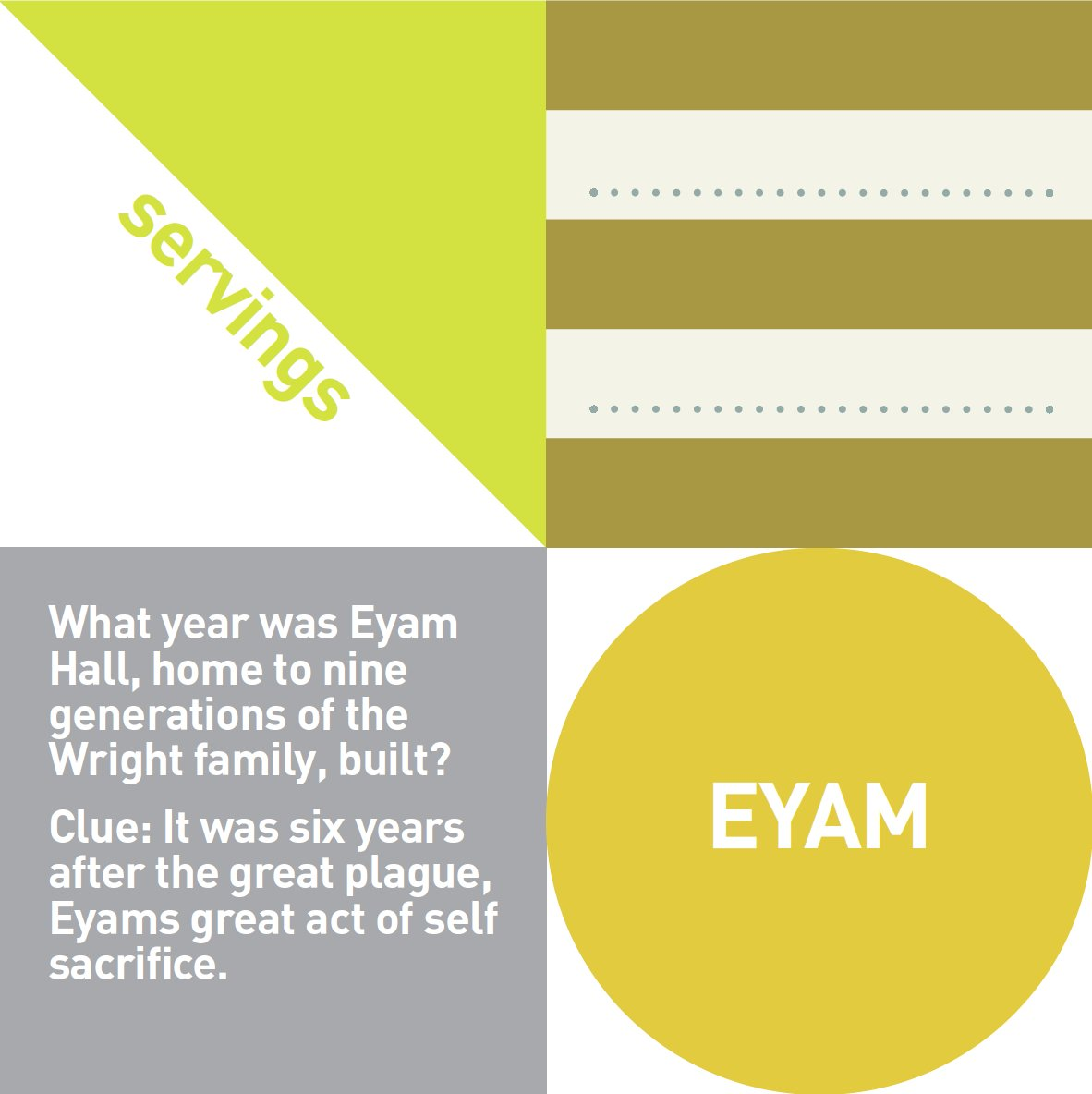 Day 12 - Clue #12 of the #PeakDistrict #TreasureHunt   #eyam #plaguevillage #peak #eyamhall #eyamhallcraftcentre #eyammuseum #café http://www.peakdistrictdesign.co.uk