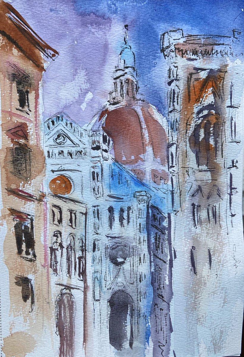 #Firenze #florenz #watercolor #watercolorartist #watercolorpaintingpic.twitter.com/Bgn9FXtqEJ
