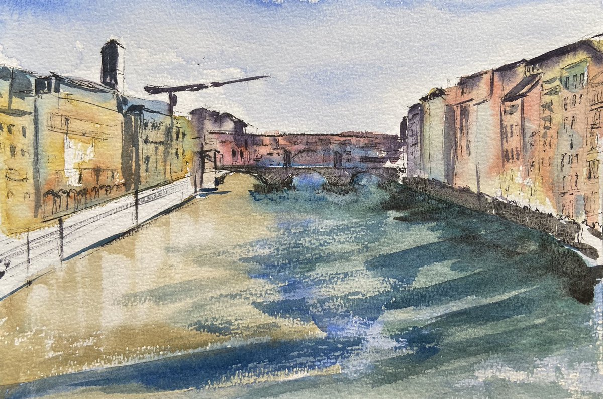 #Firenze #florenz #watercolor #watercolorartist #watercolorpaintingpic.twitter.com/uDB4BS0nzz