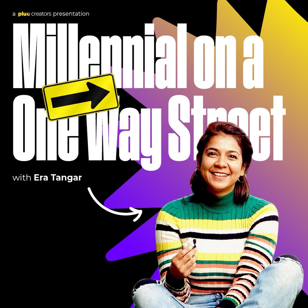 #NewShowAlert: Are you an Indian #millennial? What is your one way street?  Watch as @BlindlyFloating talks about hers in our brand new show.  Hint: Episode 1 is about getting your #gig mode on!  Releasing tomorrow.pic.twitter.com/DlSxAl8LoP