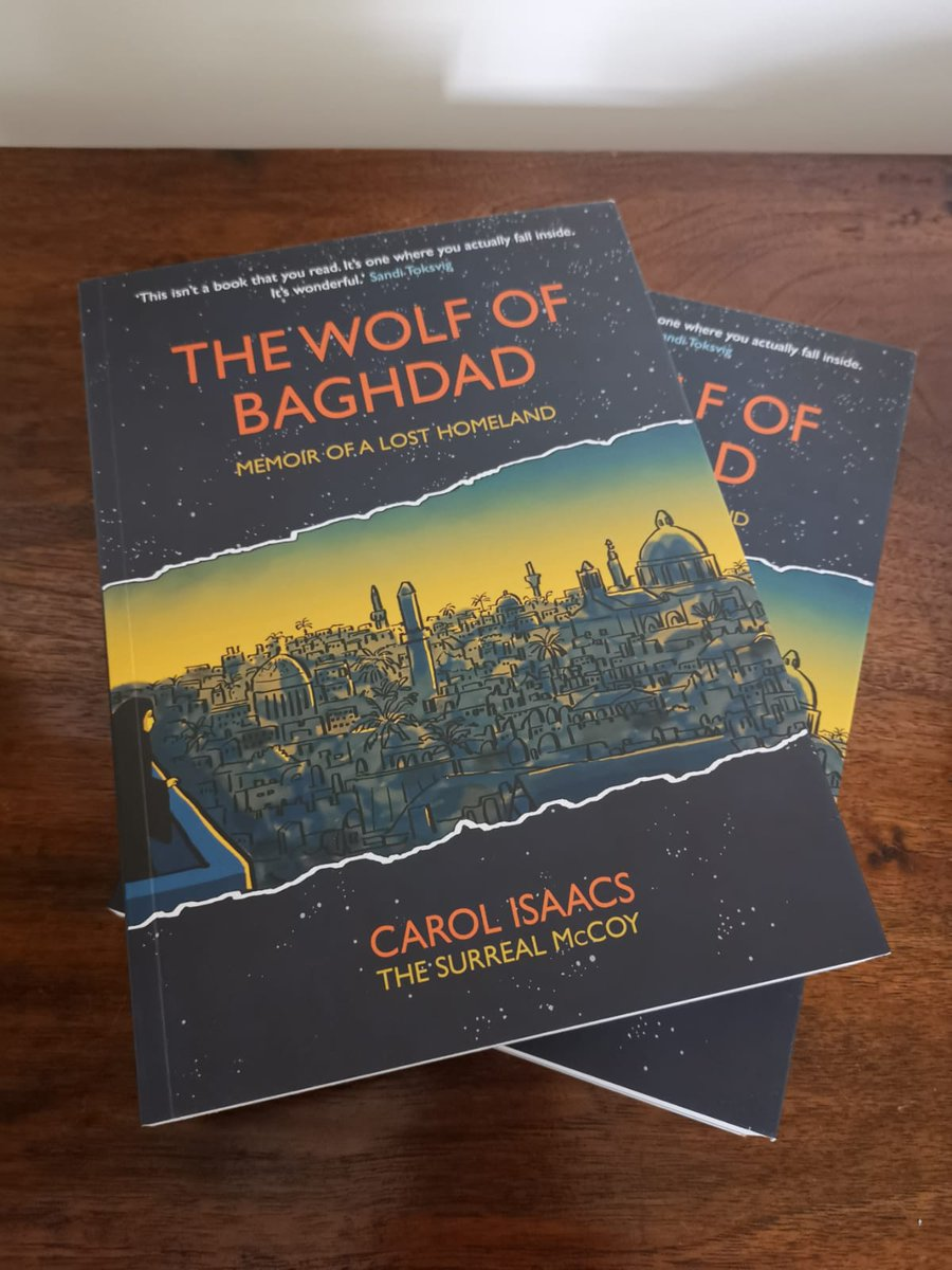 "test Twitter Media - Thank you to @TSMCartoons for having us at the launch of your exciting new book ""The Wolf of Baghdad"" last night! The graphic memoir explores memories of a lost Iraqi homeland. Book lovers/art lovers/#Iraq lovers seek it out now! @MyriadEditions https://t.co/A7O4Kk8l5c"