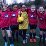 Image for the Tweet beginning: Year 7s Girls first football
