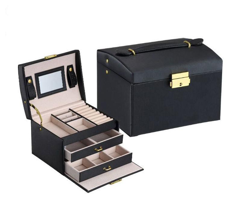 Three Layers Jewelry Organizer // Shop:  #JewelryBoxes #Awessories