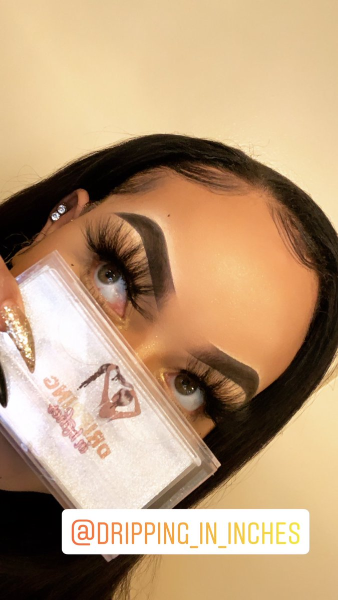 Dripping in Inches....lashes are too bomb!!! #lashes #lashesonfleek #queen #yass #brows #babyhairpic.twitter.com/kBHflHu4SC