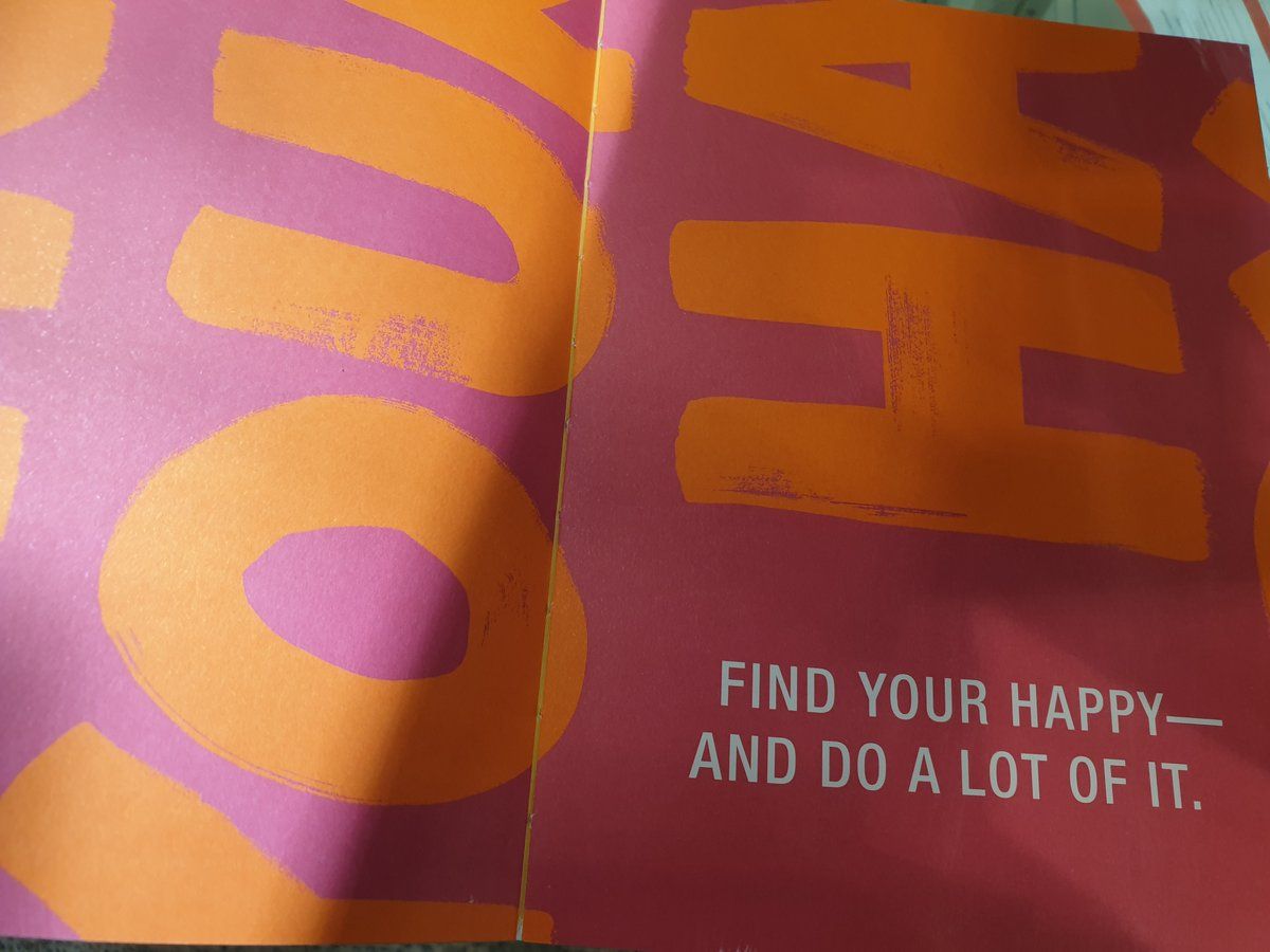 I opened a book and found the perfect advice for a Friday.  I hope you find your HAPPY!  #FridayThoughts #Happy<br>http://pic.twitter.com/zTtA2xi8JN