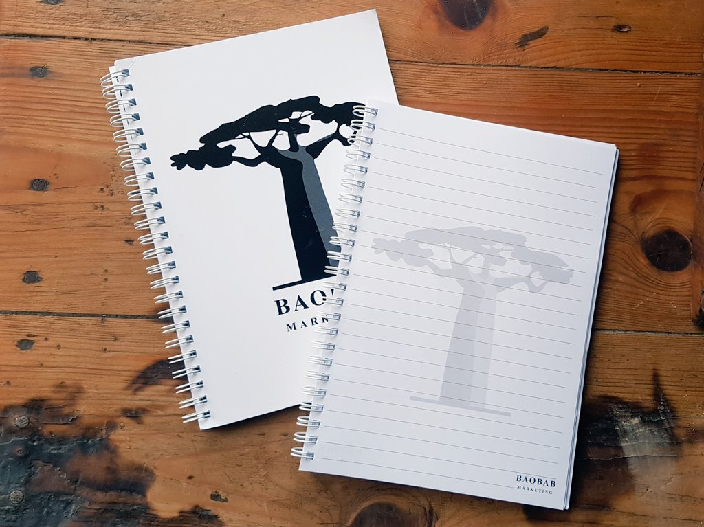 Love #stationery?  We'll it's #Freebiefriday and we are giving away 3 #BaobabMarketing notepads to 3 lucky winners.  Just #follow and #share for a chance to #WIN.   #Competition ends 12pm Fri 24 Jan. #competitions #comptime #giveaway #freebie<br>http://pic.twitter.com/dLnOuEvsAC