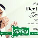 Image for the Tweet beginning: Hayırlı Cumalar 🤲  Happy Spring'de