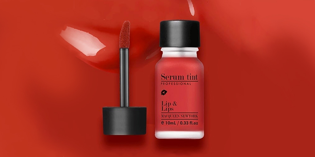 Red liptint is the beauty equivalent of a shot of expresso - strong and addictive 💄   🔍MACQUEEN - Serum Tint - #01 Red   SHOP👉  #stylevana #newyearsmakeup #koreanmakeup #koreanlipstick #redliptint #boldlip