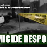 Image for the Tweet beginning: LASD Homicide Detectives Responding to