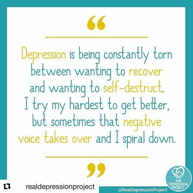 So totally it #Repost @realdepressionproject with @get_repost ・・・ 👇Drop three 💚💚💚 if you can relate to this . . . . . . . . . . . . . . . . #depression #depressionawareness #depressionhelp #mentalillness #mentalillnessawareness #mentalhealthaware…