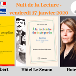 Image for the Tweet beginning: La #NuitdeLaLecture 2020 se poursuit