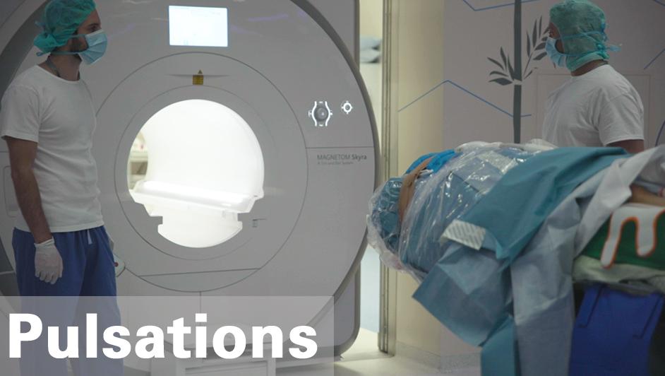 L'IRM, Imagerie par Résonance Magnétique. Une technologie de pointe qui permet la réalisation d'images, d'une très grande résolution, de nombreux tissus du corps humain #IRM #imagerie #technologie #neurochirurgie https://www.hug-ge.ch/video/irm-au-bloc-operatoire-meilleurs-resultats…pic.twitter.com/xS82QxlK4S