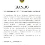 Image for the Tweet beginning: Bando en Navas del Rey.