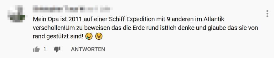 Und, dass diese #Expedition stattgefunden hat, wird natürlich verschwiegen. Zumindest konnte ich im Netz nichts darüber finden. #mussmanwissen
