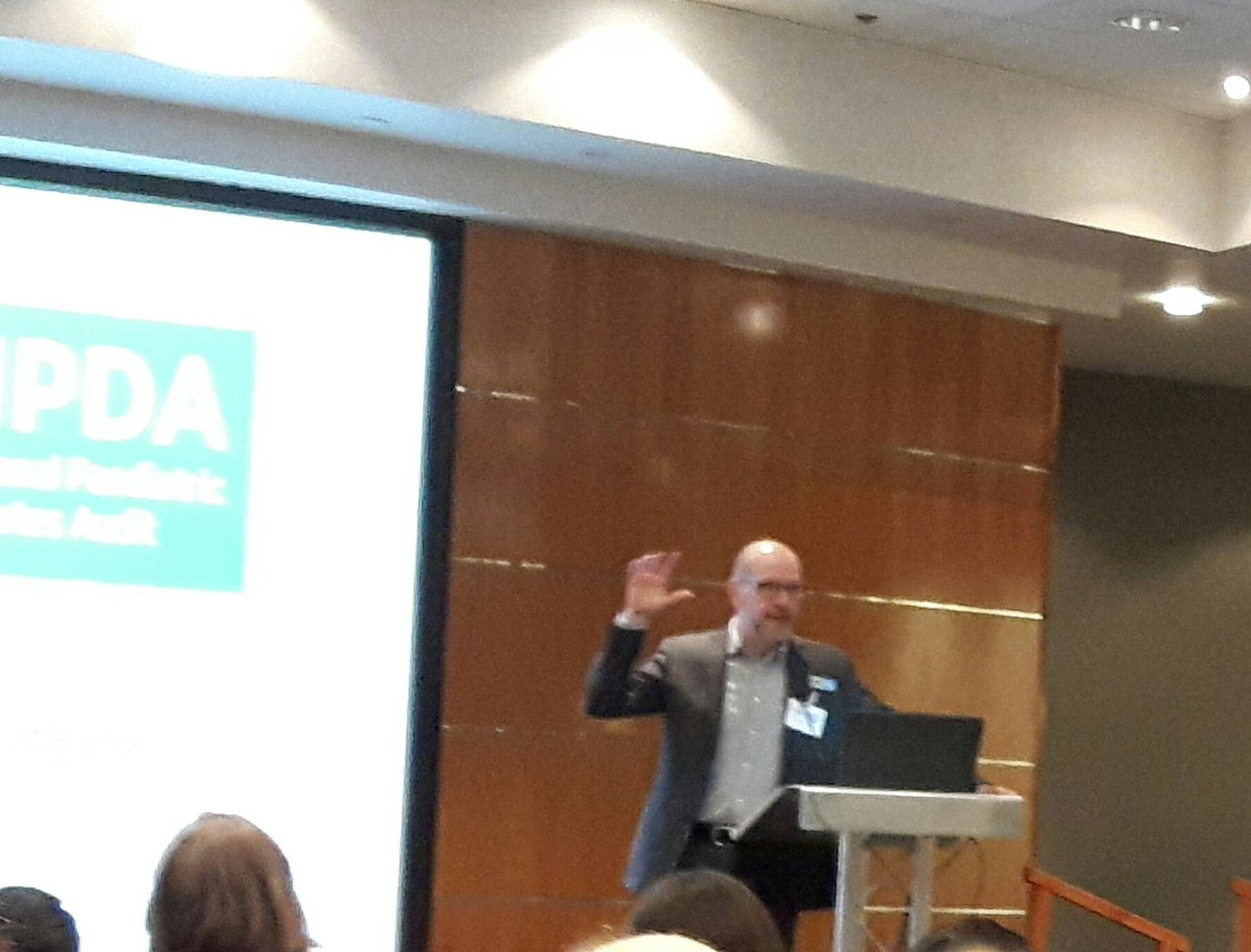 President of @RCPCHtweets Prof. Russell Viner explains how the @NPDA_RCPCH has helped raise profile of children in NHS England strategic plans. Combination of data and quality improvement unique in paediatrics  #NPDAconf2020pic.twitter.com/SYRzMGJQ2N