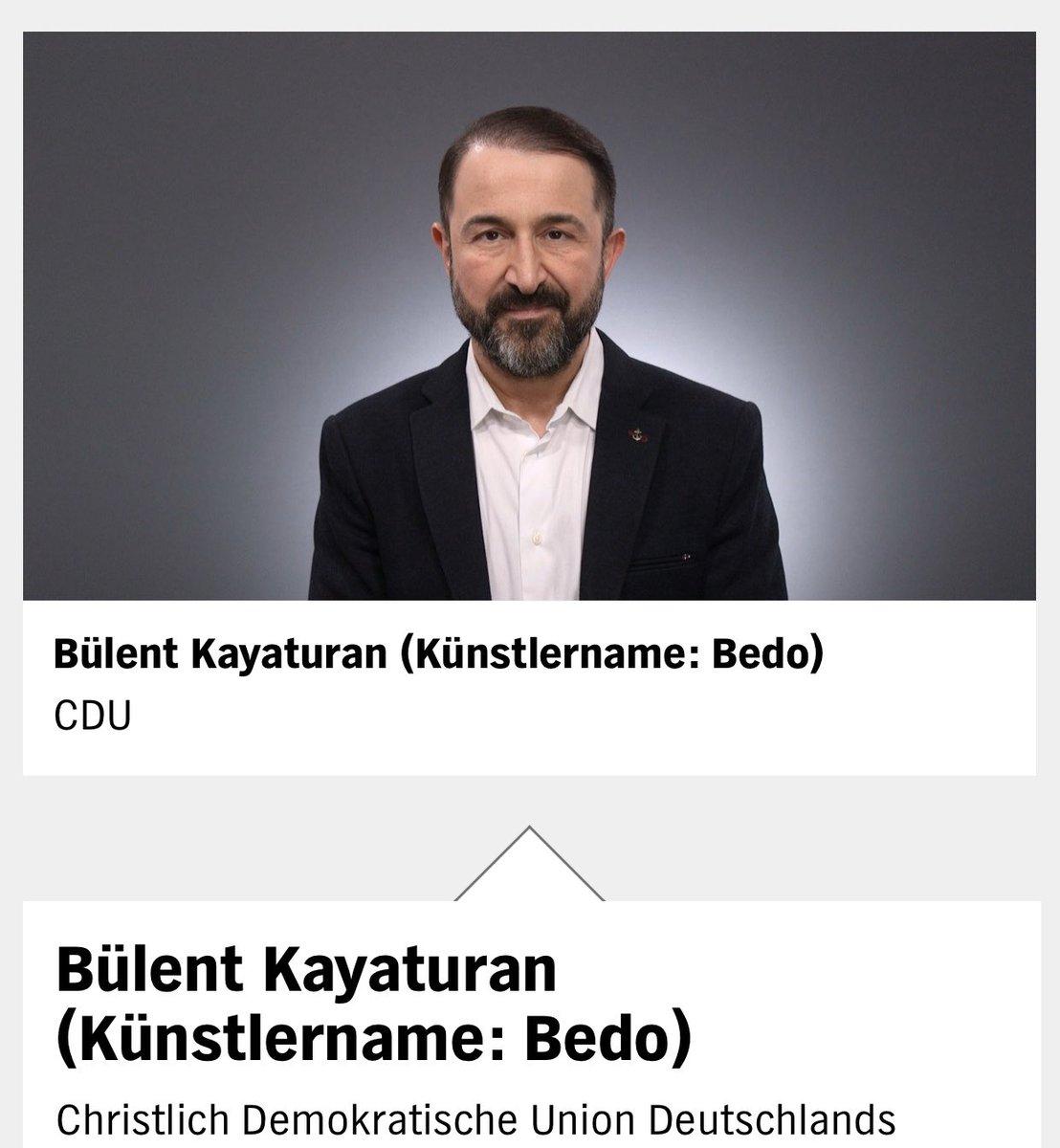 Der NDR Kandidat*innen-Check ist online!   3 Fragen - 3 Antworten - 2 Minuten   —————————  Landeslistenplatz 26 - Bürgerschaftswahlen 2020 #TeamBedo #Change #hhbue #hhwahl #cduhh @CDU_Hamburg   https://kandidatencheck.ndr.de/kandidat/buelent_kayaturan-kuenstlername-bedo/7538…pic.twitter.com/yIvRohEVux