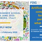 Image for the Tweet beginning: Applications for the #SummerSchool on