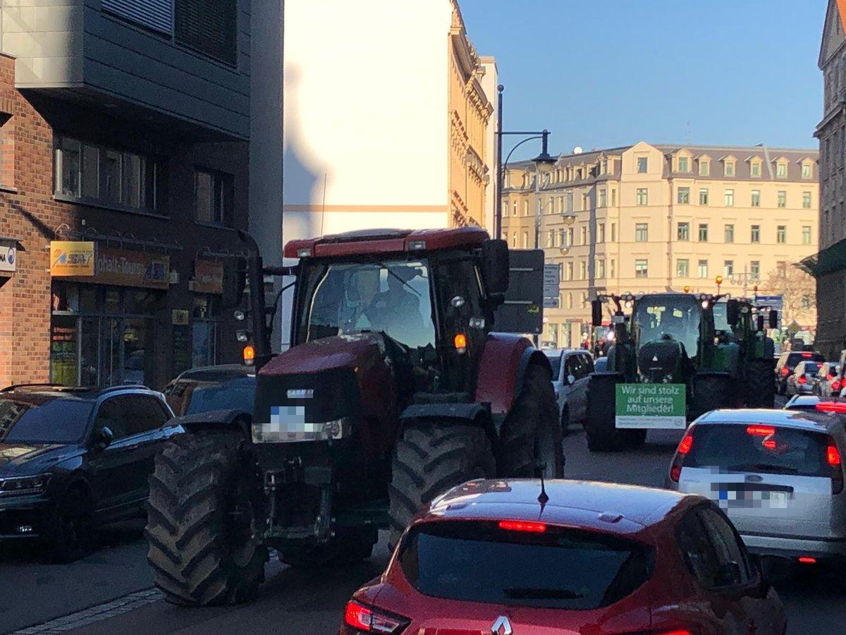 #Bauernproteste