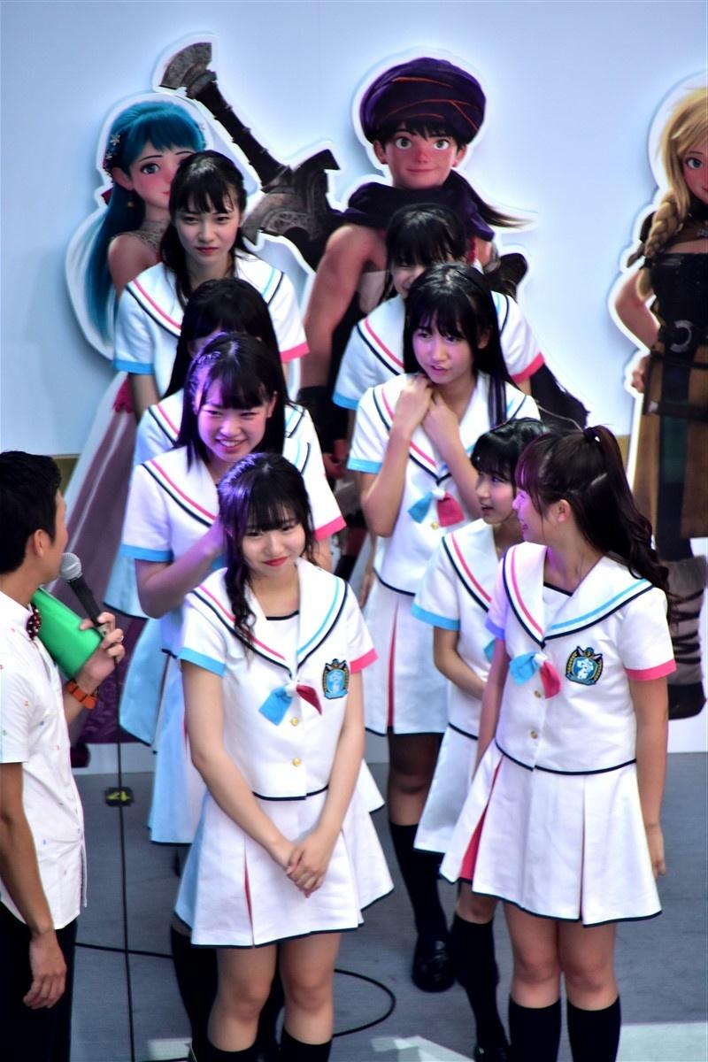 2019/8/24の エンディング @ 汐留日本テレビの画像を少々…。その6    #8princess #WTEgret #MPFB #ReSta #茶果菜 #IQプロジェクト研究生