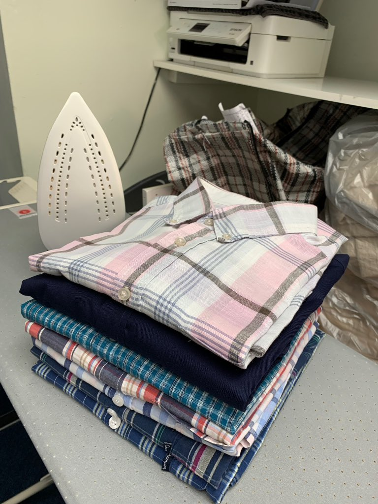 Freshly ironed and ready for the weekend!  #tavistock #shirts #tavilaundry #weekendready <br>http://pic.twitter.com/R4N5gWvhp0