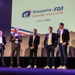 Image for the Tweet beginning: Depuis 23 ans, FDJ accompagne