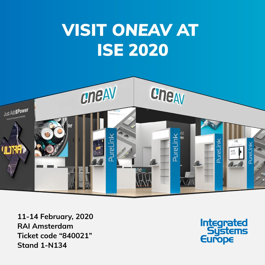 Who's heading to #ise2020? We'll be there on stand 1-N134 - why not come along and say hi to the team? The ticket code is 840021 ;)  The countdown begins!pic.twitter.com/BxAFANng8O