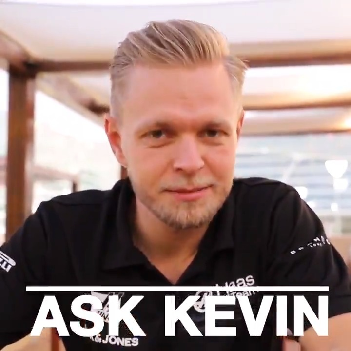 """Welcome to your flight, Captain Kev is at the controls!""  @KevinMagnussen on getting a pilot's license and answering more of your questions in the next edition of Ask Kevin ⬇️"