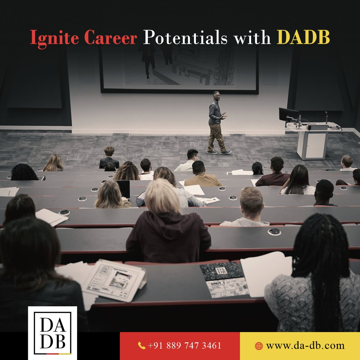 #DADBIndia is offering a diverse range of study opportunities in #GermanEngineering courses, designed by the finest German Professors. These #BlendedLearning courses open up excellent career prospects for Indian students in leading #architectural companies of India and beyond.pic.twitter.com/HUApvg49iY