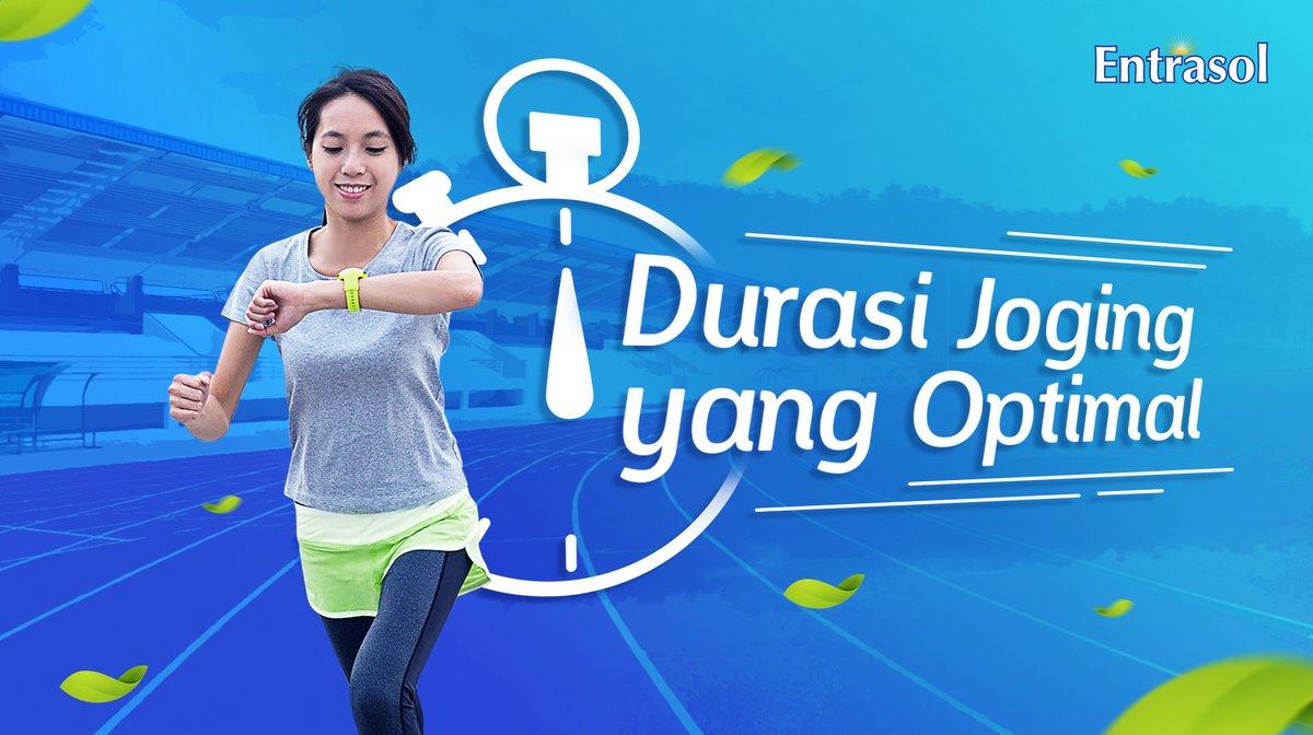 Konsisten berolahraga memang bukan hal yang mudah, namun bukan mustahil untuk dilakukan juga sih. Yuk, lakukan olahraga ringan seperti jogging minimal 20 menit sebanyak 3-4x perminggu dan jangan lupa lengkapi dengan susu #Entrasol ya, Active People! #NutrisiPalingNgerti