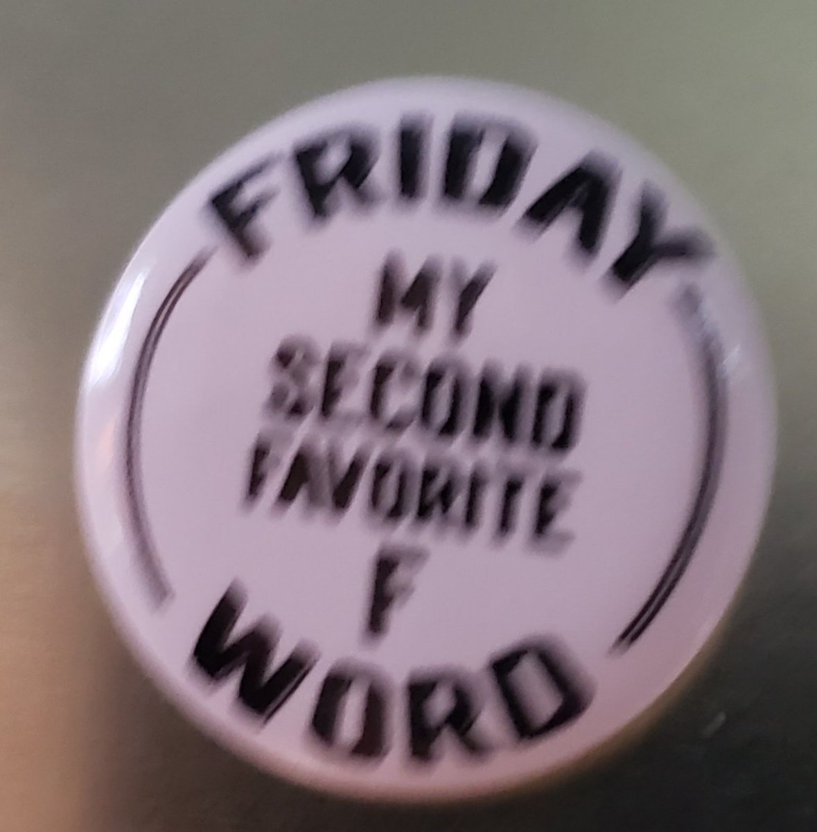 """#HappyFriday y'all! (""""Football"""" is of course my favorite """"f"""" word.) <br>http://pic.twitter.com/4Rde06089d"""