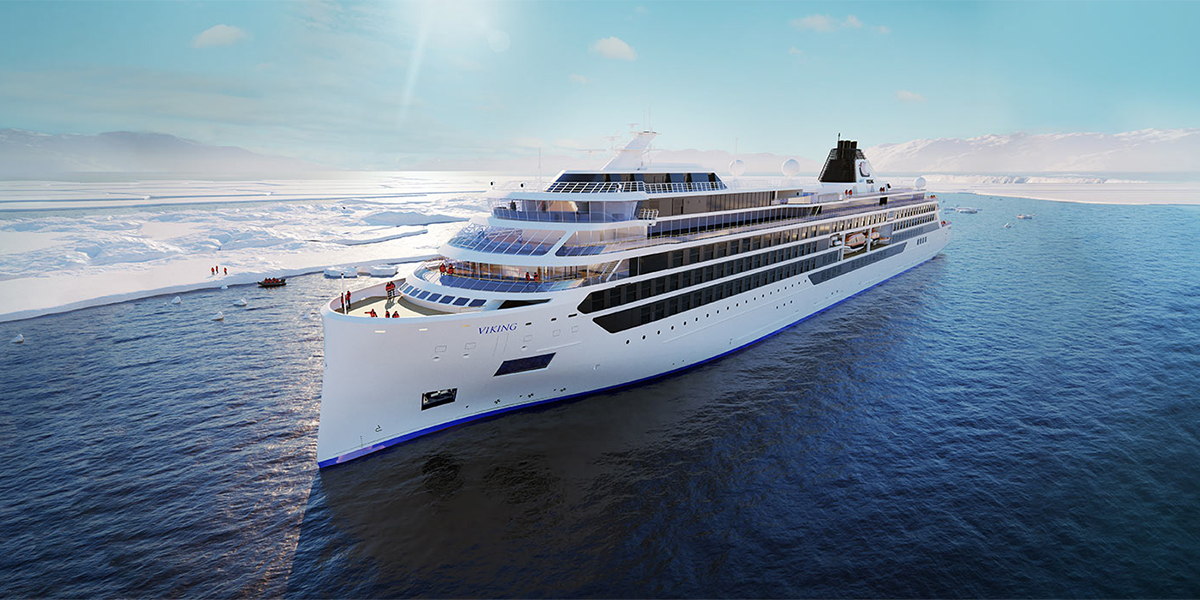 Viking Expeditions set for launch in 2022 - very exciting news from @VikingCruises ➡️ http://bit.ly/VikingExp #VikingExpeditions #Cruise #Travel #Luxury #Expedition
