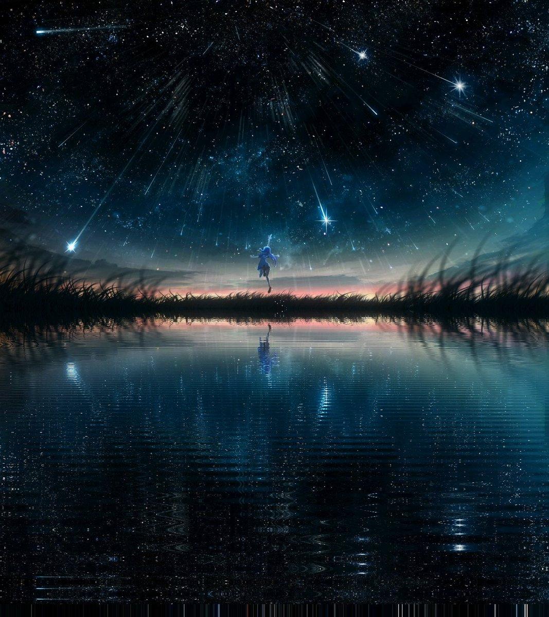 отражение ночи картинки будущего это