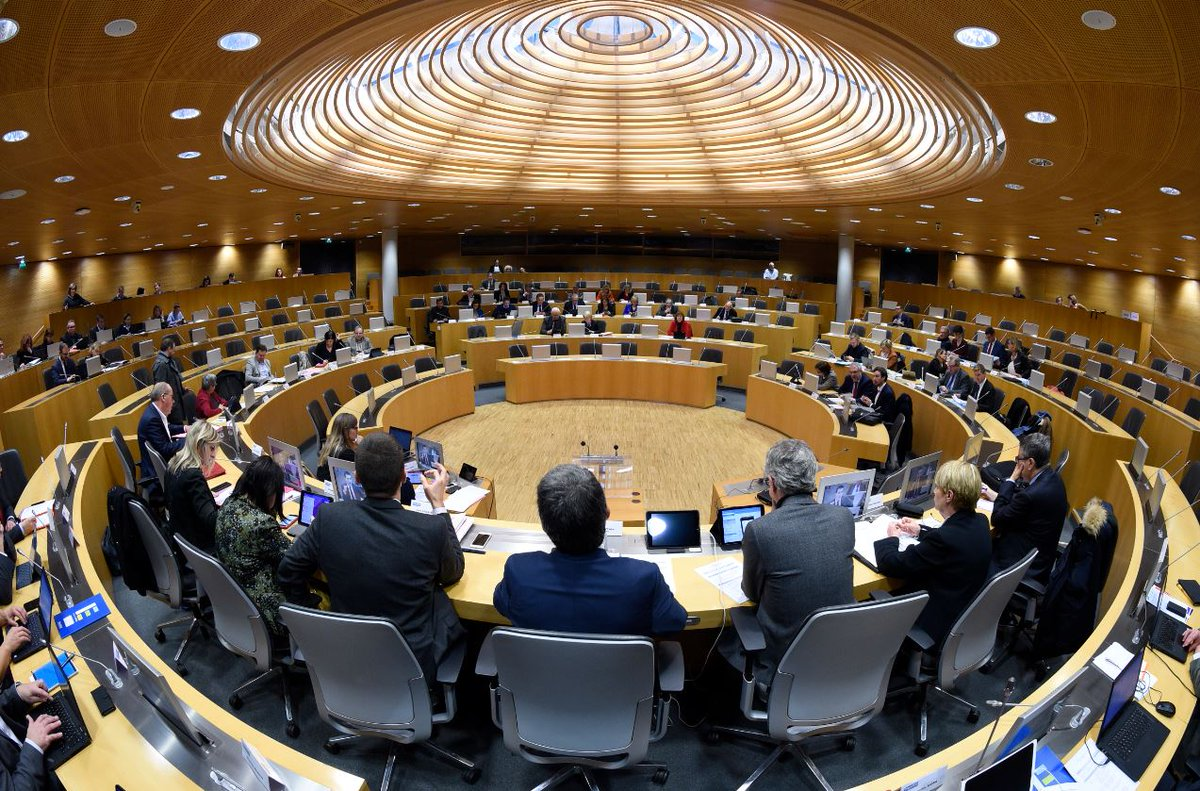 Image for the Tweet beginning: 📺 Revoir la commission permanente