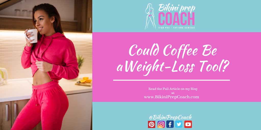 If losing weight is one of your New Year's Resolutions, your morning cup of coffee might help you along to your goal.  #weightloss #weightlosstransformation #bodytransformation #bikiniprep #wellnessprep #bikiniprepcoach #noom #ww #womensfitness pic.twitter.com/Nas2BA3ety