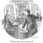 Image for the Tweet beginning: A cartoon by Brendan Loper.