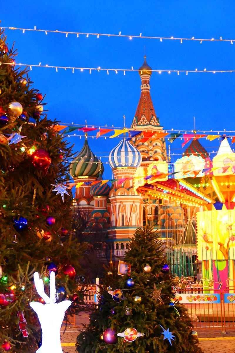 Moskau in der Nach-Weihnachtszeit pic.twitter.com/kOZKIepbd8