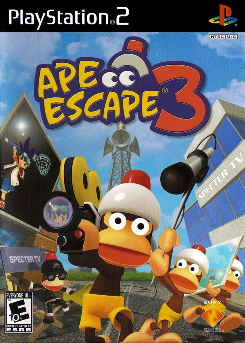 This Day in Gaming History: today in 2006 (14 years ago) Ape Escape 3 was released.  #playstation2 #playstation #apeescape #podcastersofinstagram #podcastinglife #podcast #videogames #videogame #ps2 #retrovideogamespic.twitter.com/mZoQEnIEyB
