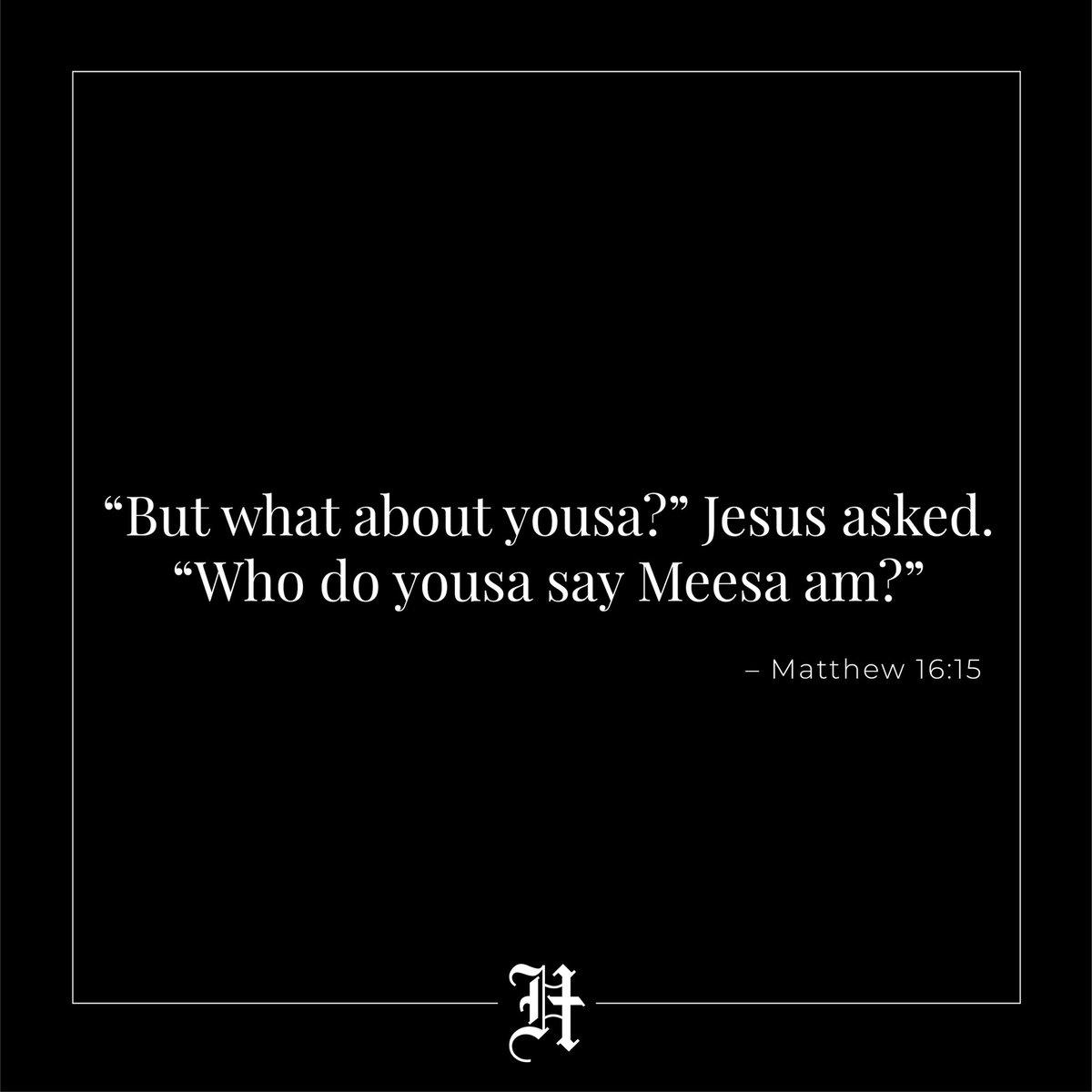 #starwars #jarjarbinks #church #God #Jesus #Jesuslovesyou #fixitjesus #pray #churchmemes #christian #christianmemes #hillsong #churchflow #cross #gospel #bible #scripture #jesusmemes #worship #youthpastor #pastor #preach #sermon #gospel #jesusmemes #memesforjesus #worship #satirepic.twitter.com/lc4nForTkC